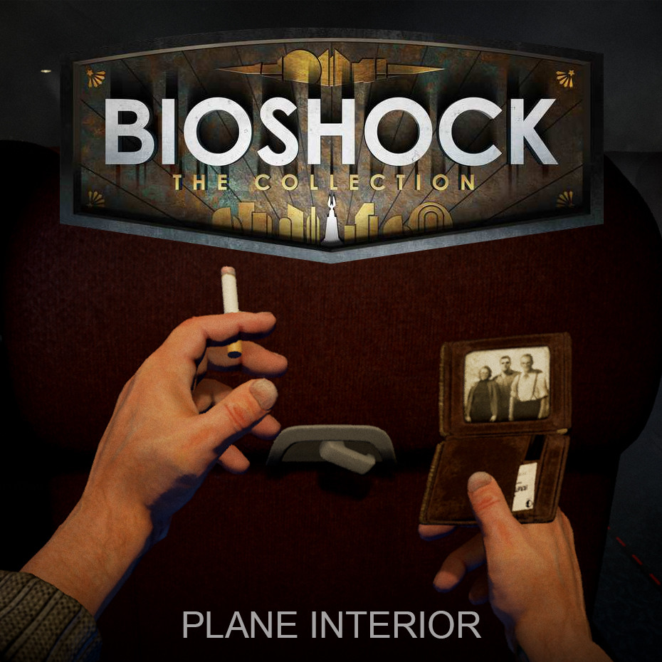 Bioshock: The Collection - Plane Interior