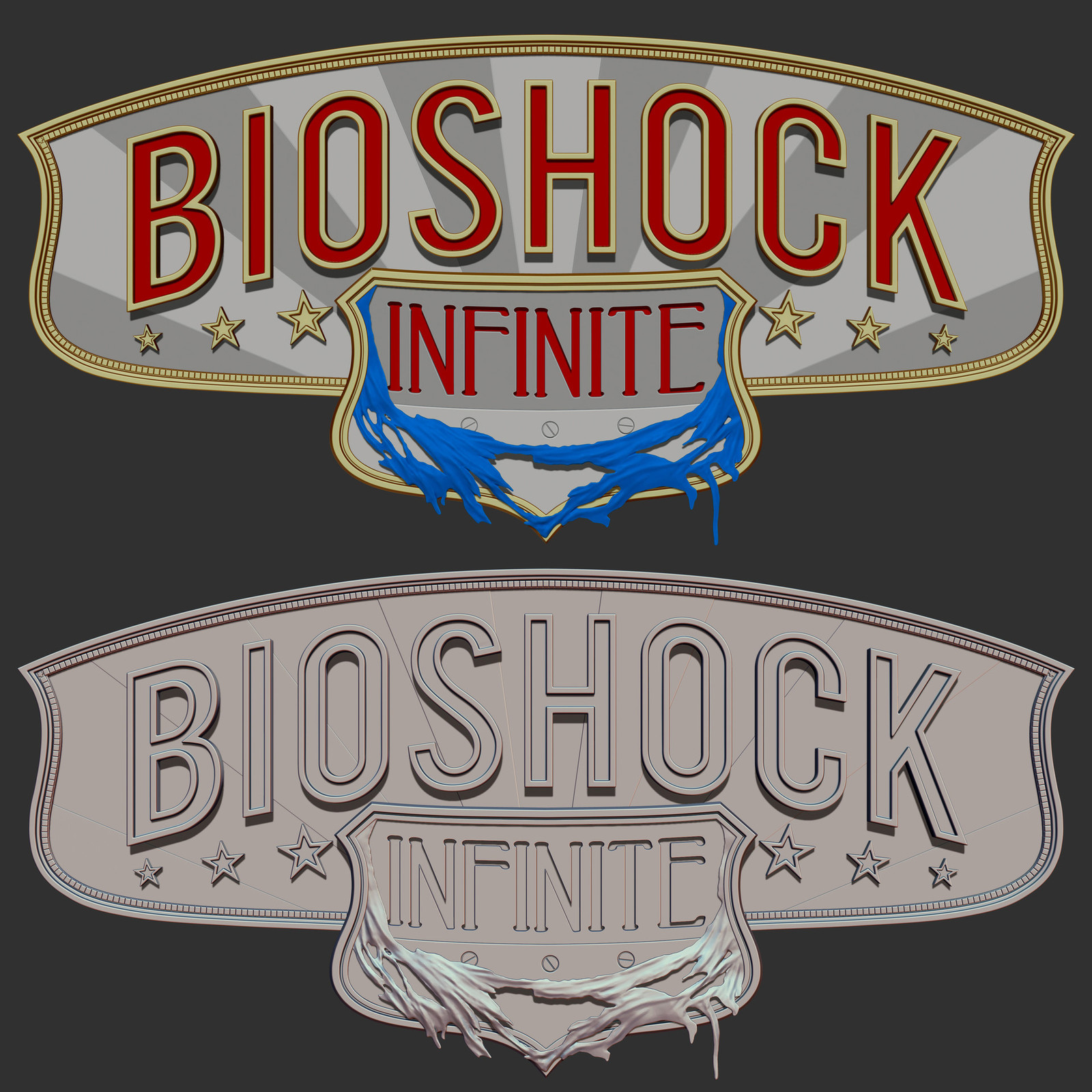 Bioshock: The Collection - Bioshock Infinite Logo (Not Published)
