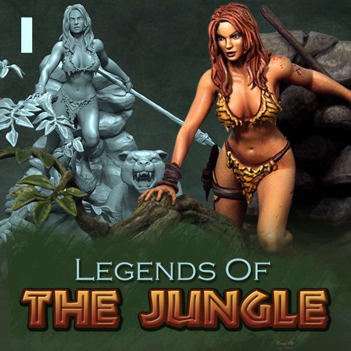 Legends Of The Jungle - Set 1