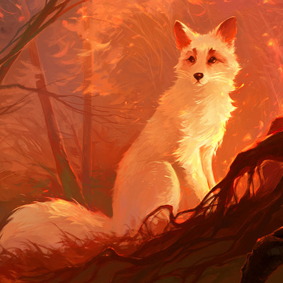 Alina ivanchenko red magic forest th