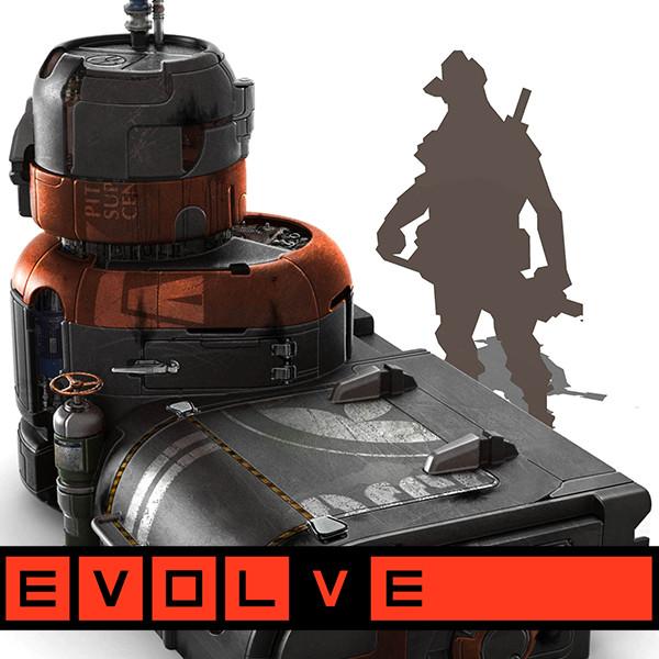 """EVOLVE """"LocoTech"""" Prop Concepts: Large Props"""