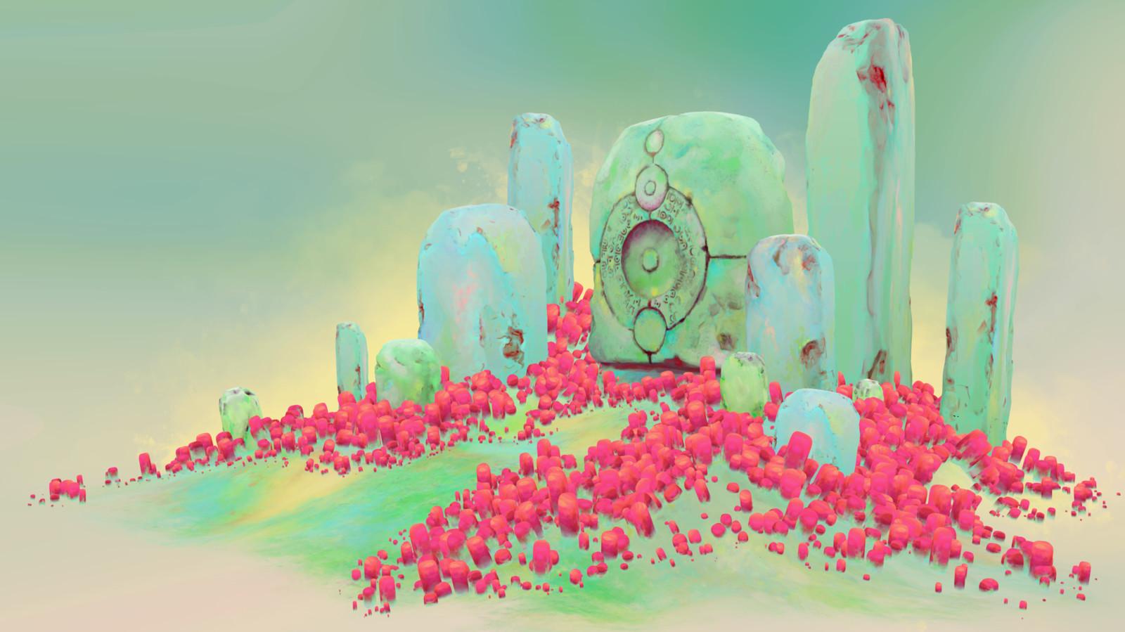 Pastel Stones