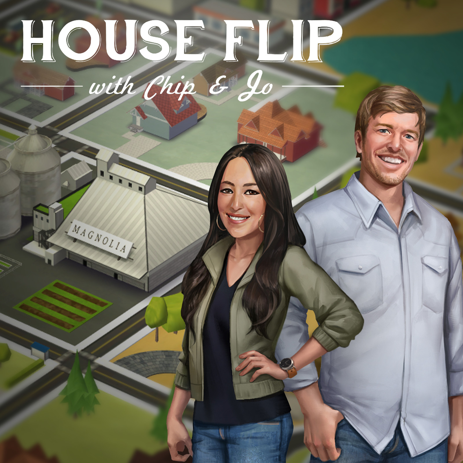 House Flip w/ Chip and Jo - a Magnolia video game, House 3D assets