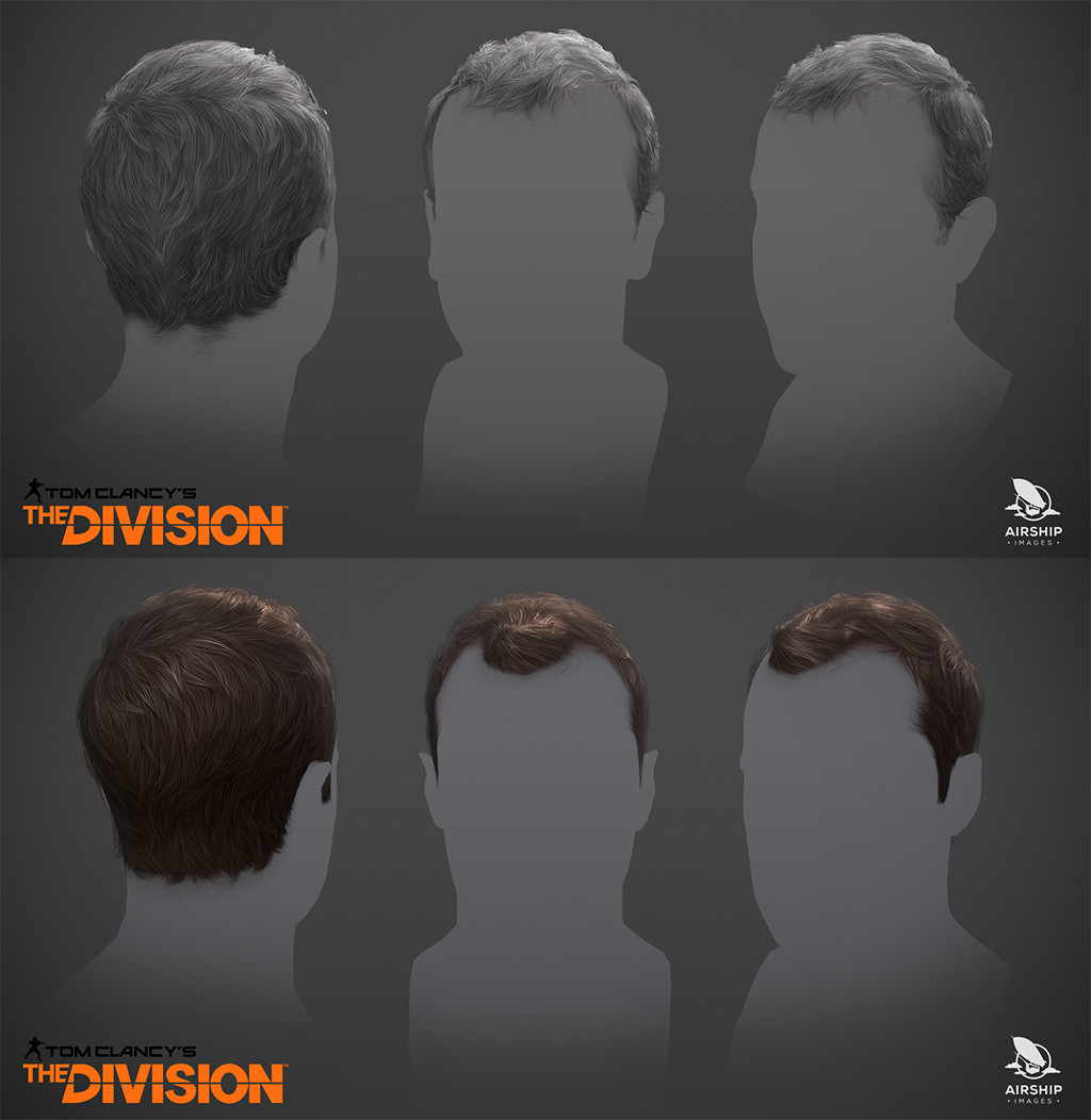 Hairstyles - Tom Clancy´s The Division (2015)