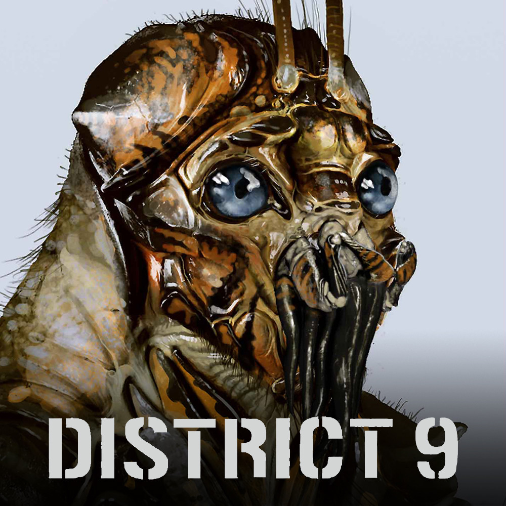 District 9 Alien Concept Art