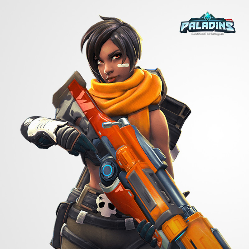 Kinessa's Rifle - Paladins: Champions of the Realm