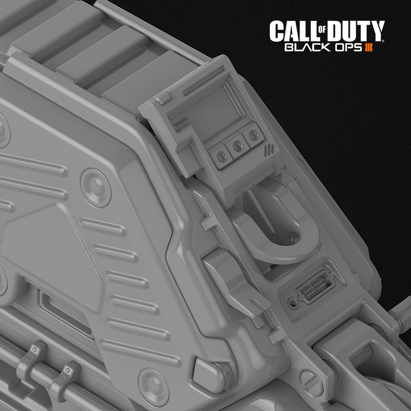 Call of Duty: Black Ops 3 - LV8 Basilisk High Poly