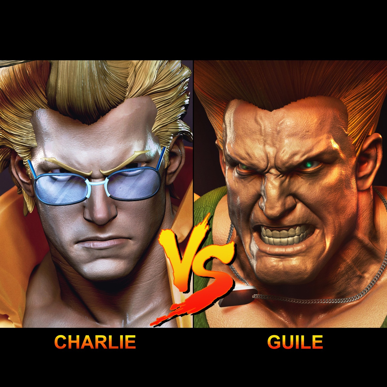 "War Heroes -""Guile Vs Nash"""