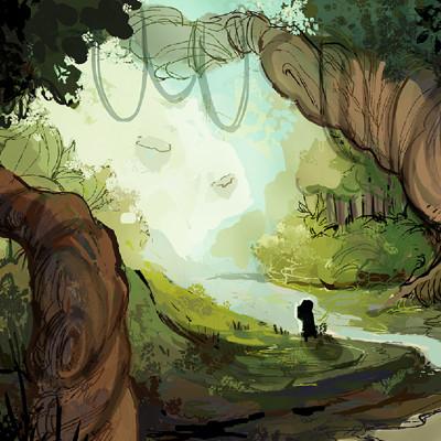 Perma death 017c env scene4 artemis s forest entry render