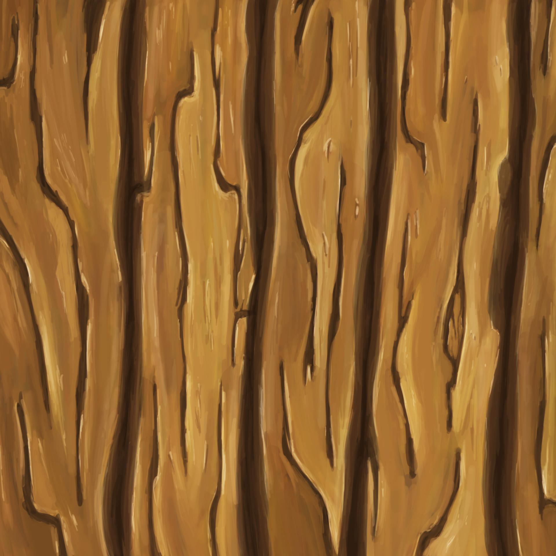 ArtStation Hand Painted Wood Texture Study Eric Carroll
