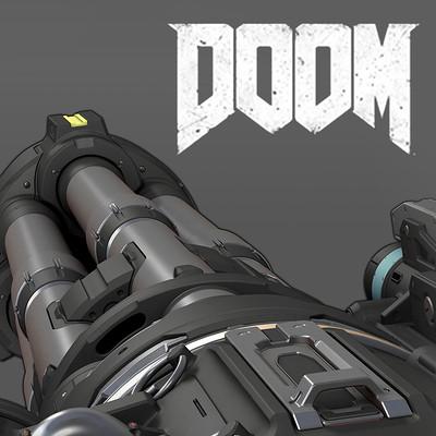 Gregor Kopka Doom 2016 Chaingun