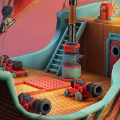 Sendoa bergasa pirate ship 02