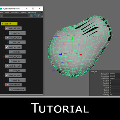 Splitting your rig into a local deformation layer
