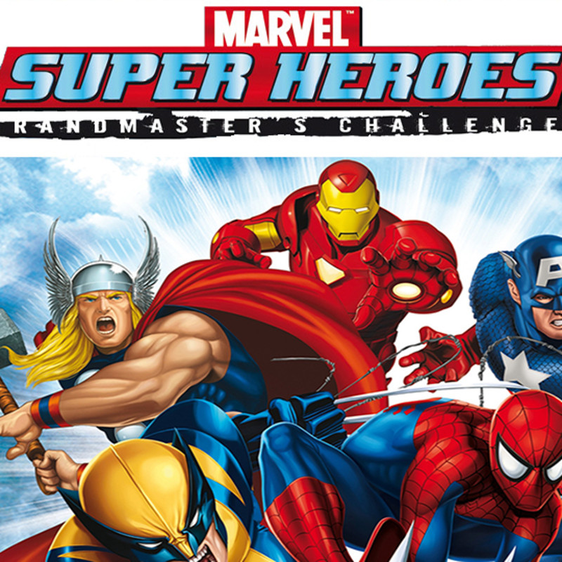 Marvel Superheroes 3D