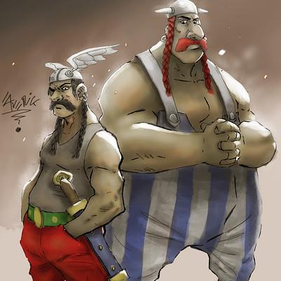 Gbenle maverick asterix and obelix