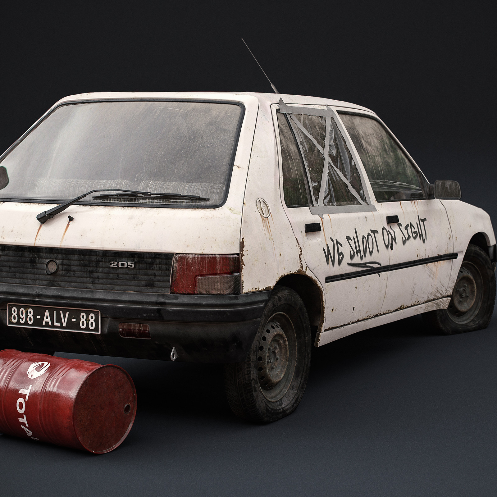 Checkpoint project - Peugeot 205