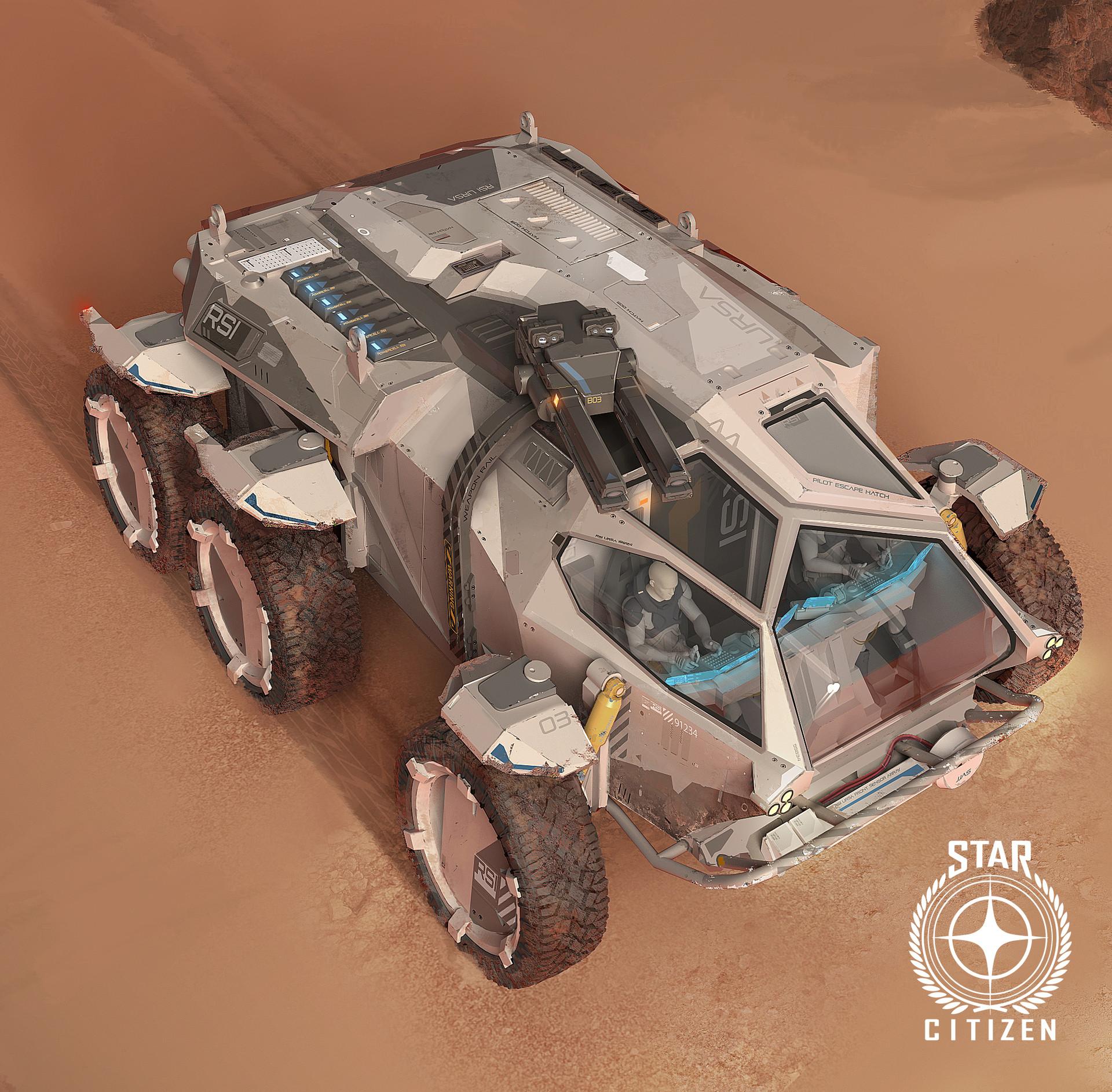 Star Citizen, RSI rover concept