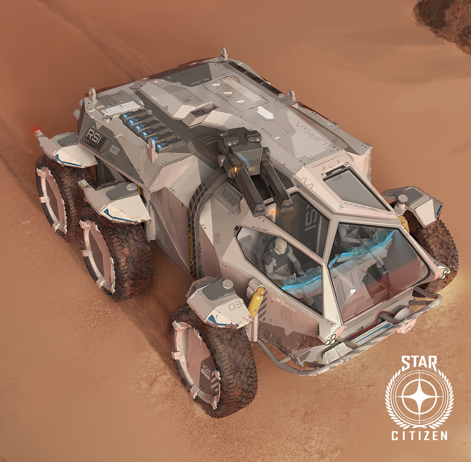 Star Citizen, RSI rover concept