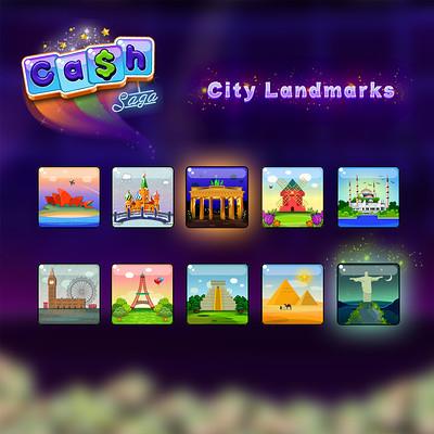 Landmark character slots