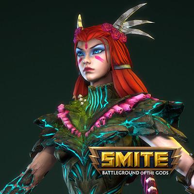 SMITE: Artemis - Briar Queen