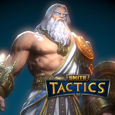 Smite Tactics: Zues