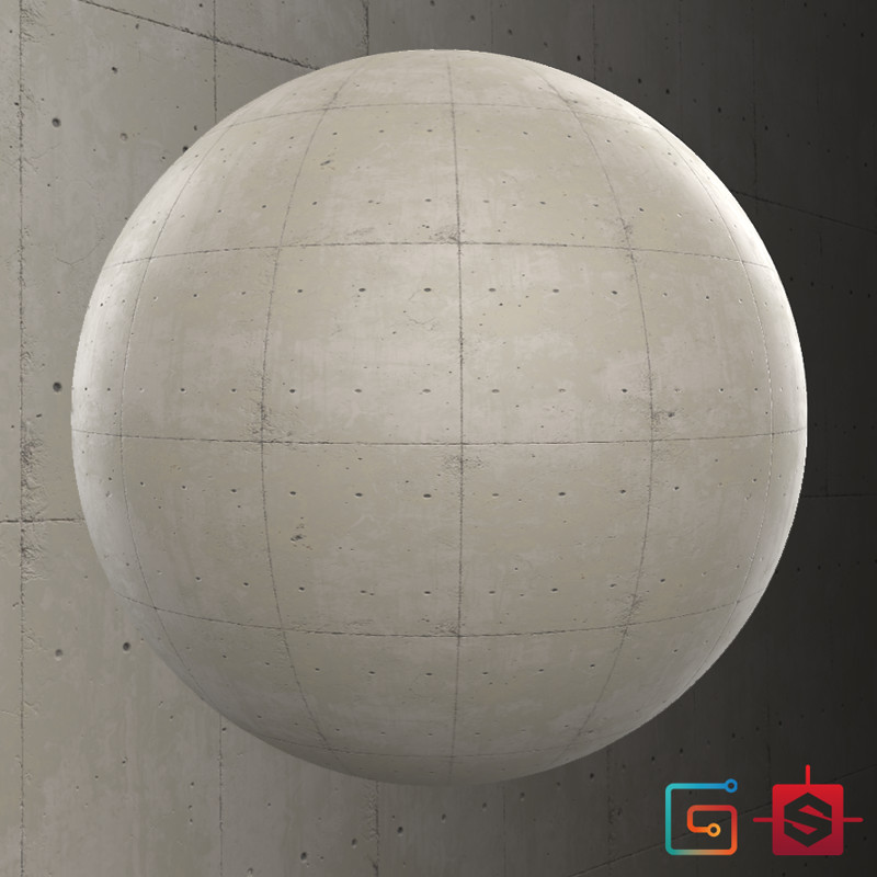 Substance Designer - Concrete Slab & Marble