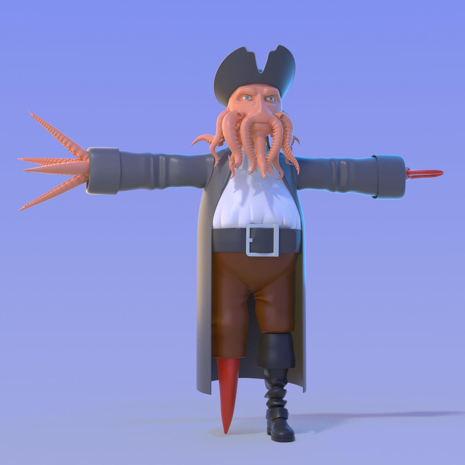 Davy Jones W.I.P.