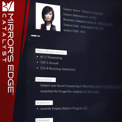Mirror's Edge Catalyst FUI - Conglomerate
