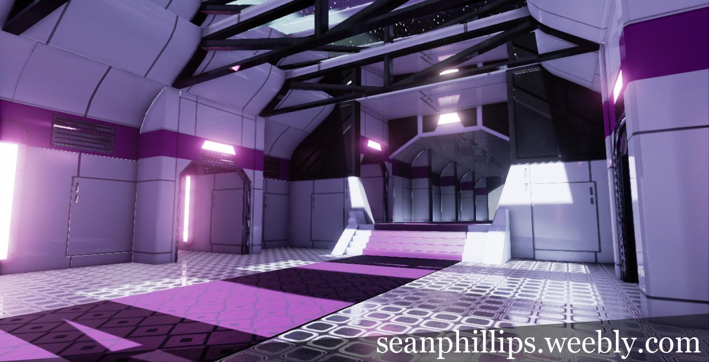 Sci Fi walkway