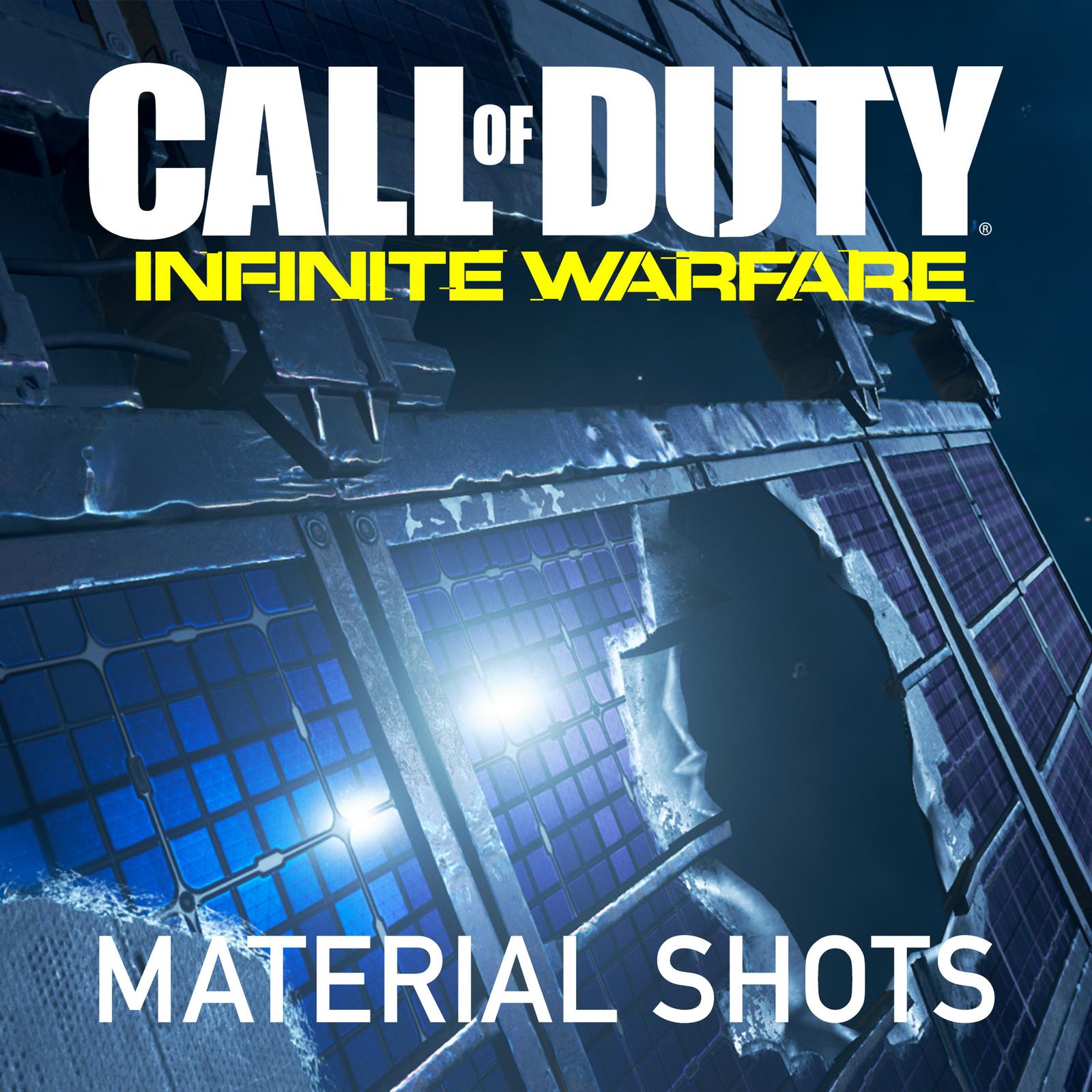 Call of Duty: Infinite Warfare Material & Texture Renders