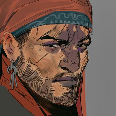 Hugo richard pirate face