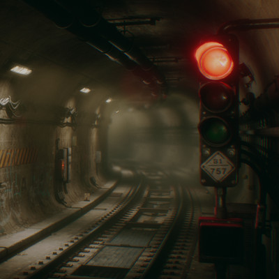 Northwood CCA Subway Tunnel (UE4)