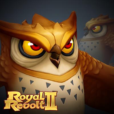 Airborn studios monster owl thumbnail