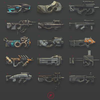 Arturo gutierrez weapon design 02
