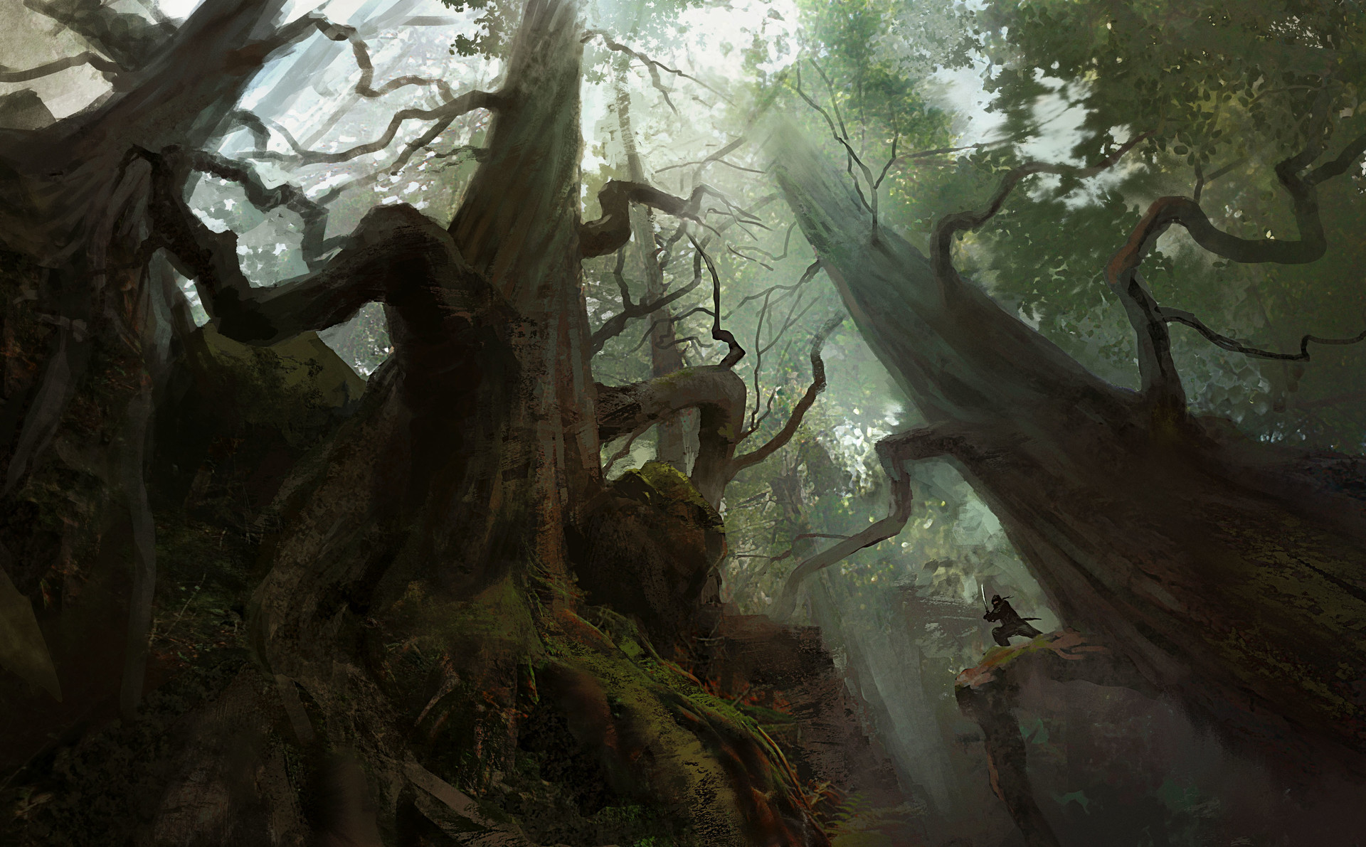 Towering Forest