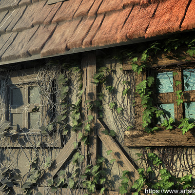 Eugene melnikov medieval house1 render title