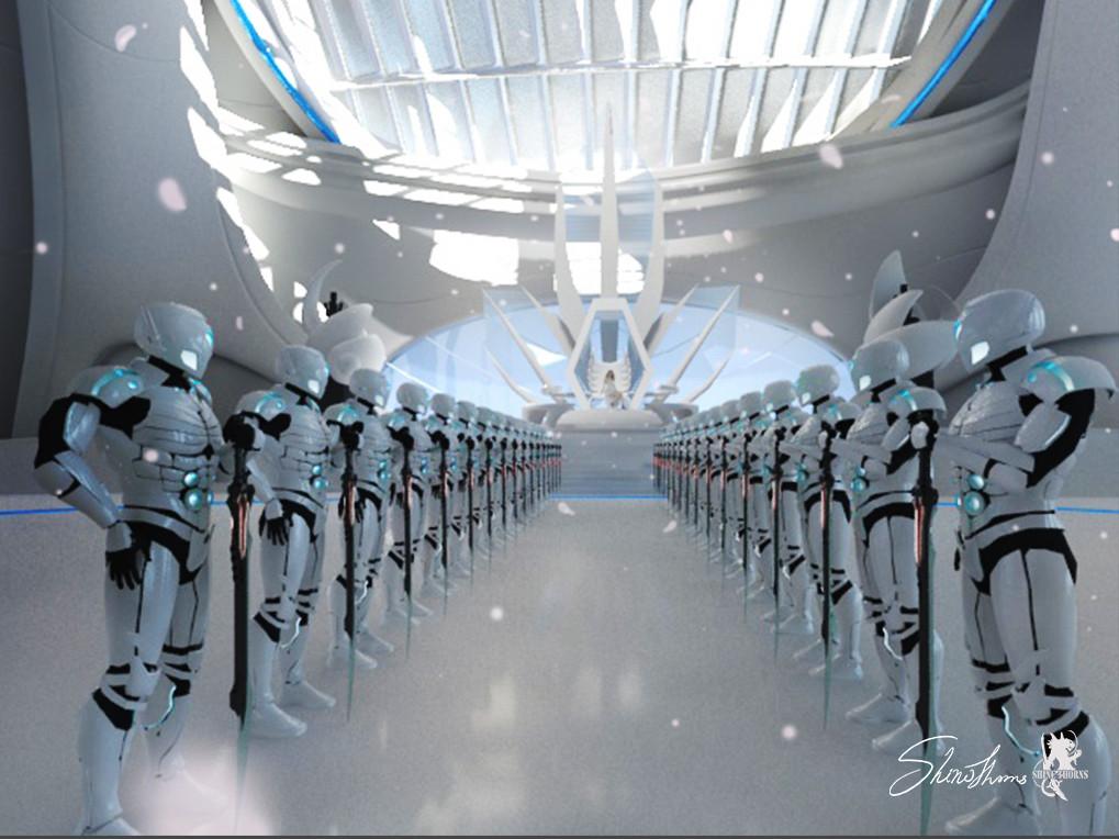 Lobby space Design