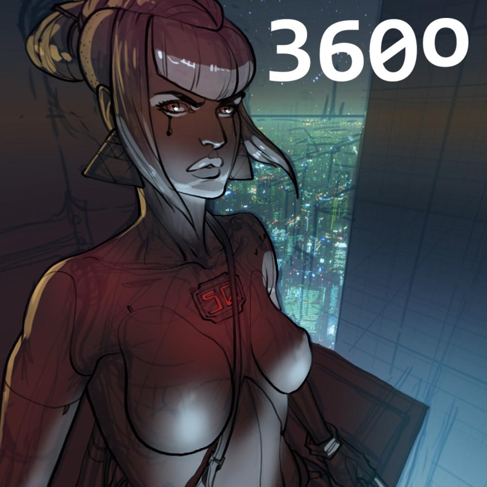360 Pano - Cyberpunk test