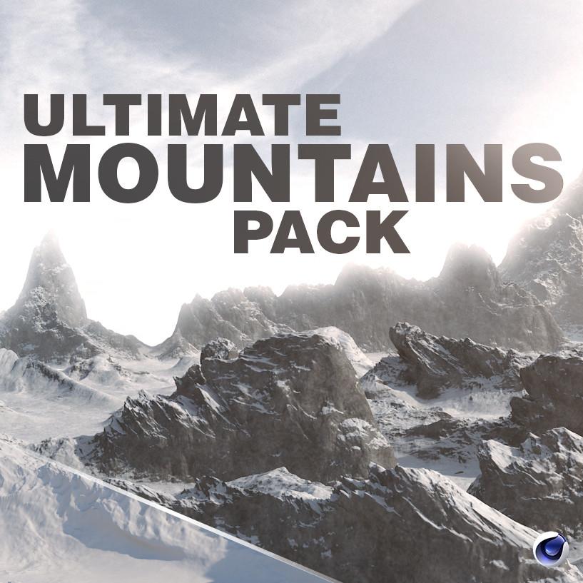 ArtStation - Ultimate Mountains Pack - Cinema 4D, Vladimír