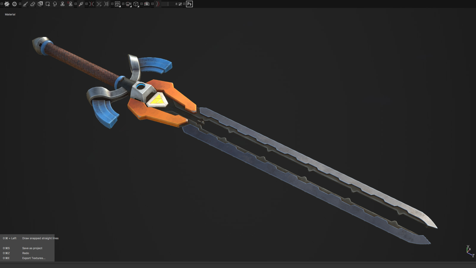 Futuristic Link Sword