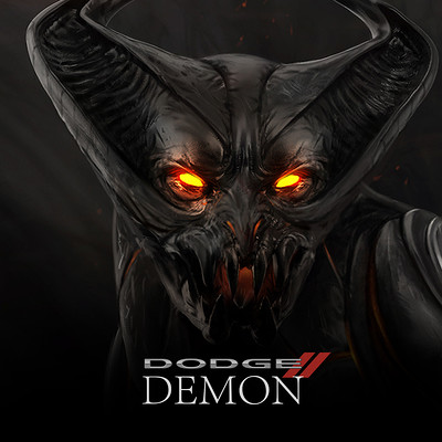 DODGE DEMON - FELINE CREATURE / ALTER EGO - Concept Design