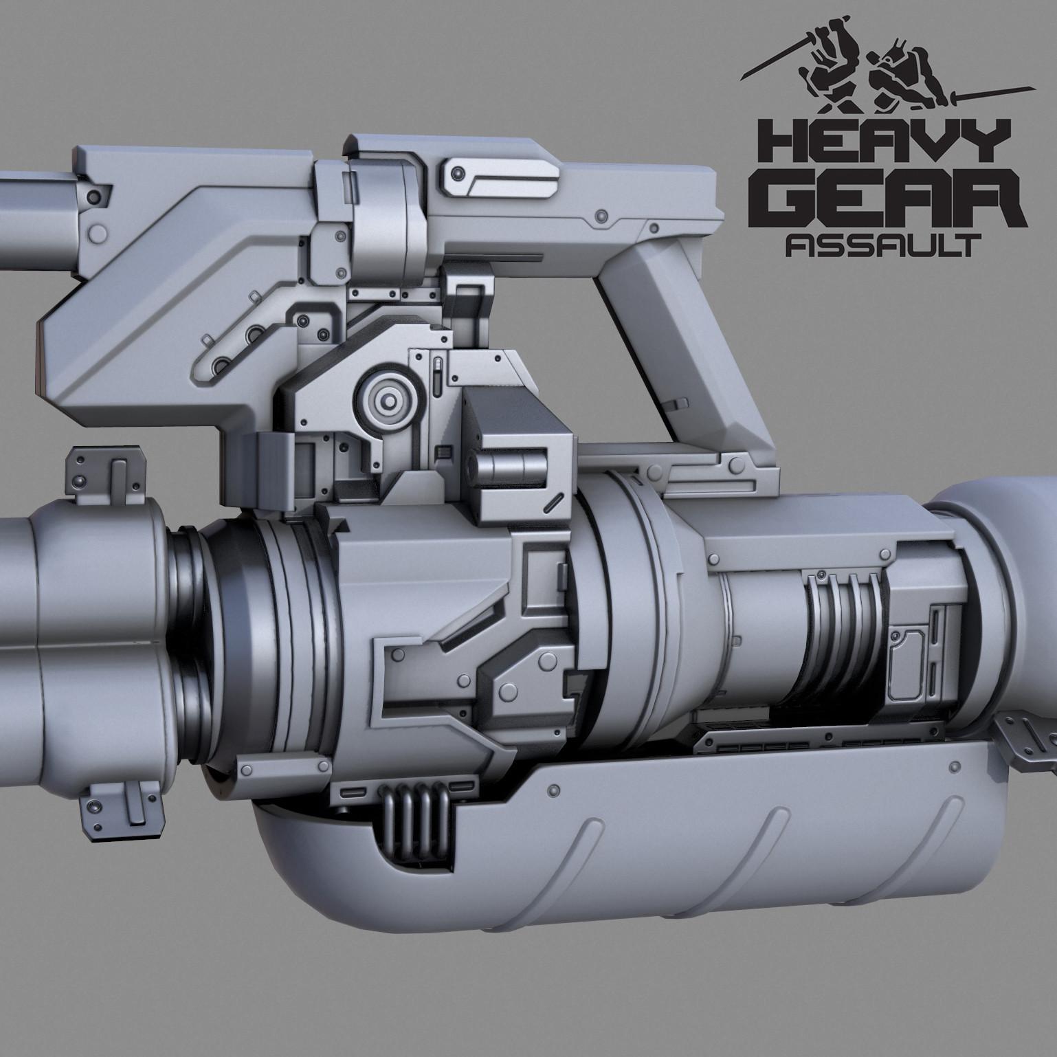 Heavy Gatling Laser