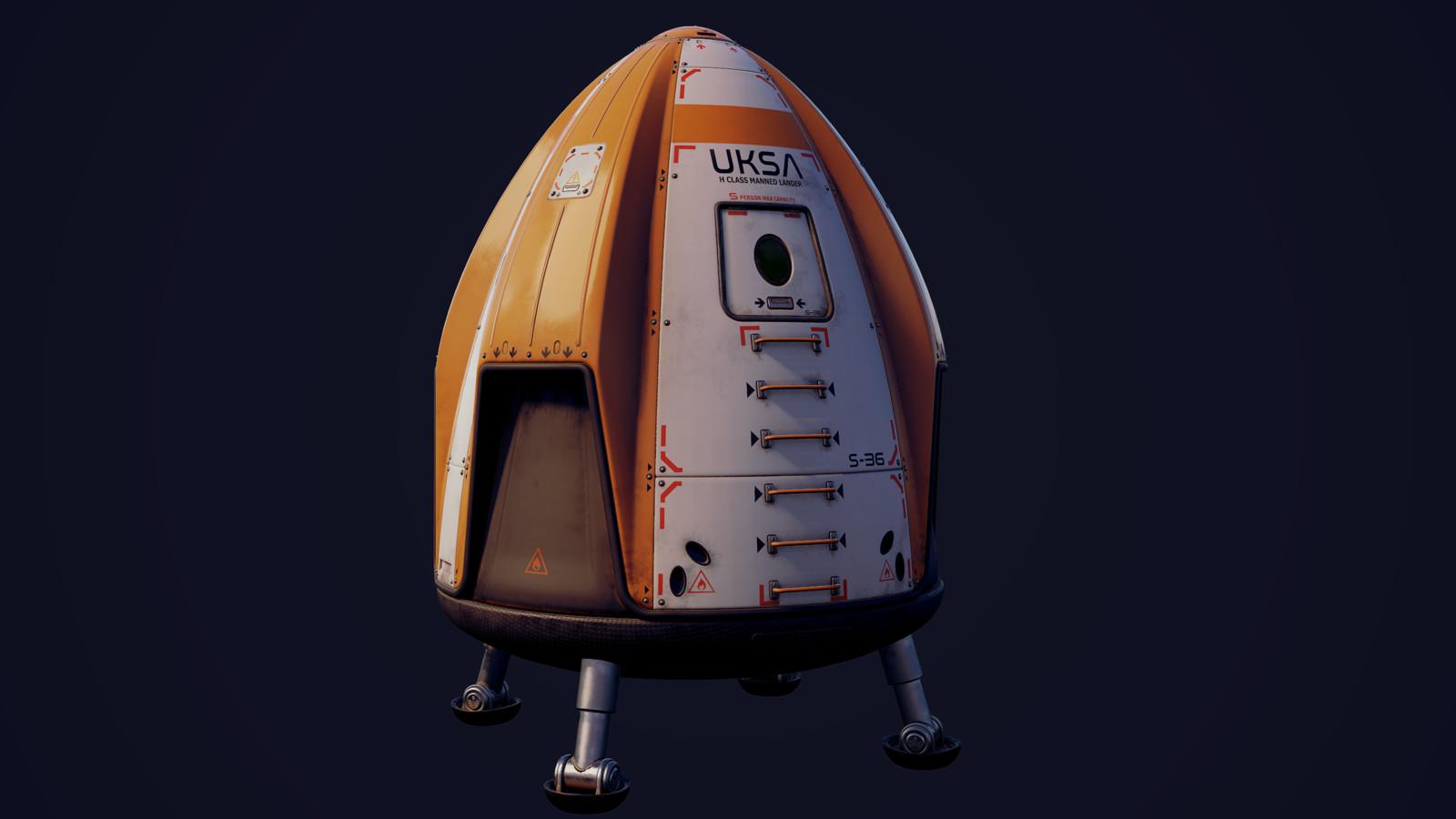 Asset - Manned Space Capsule/Lander