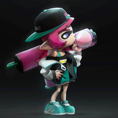 Jisu choe jisuart squidkids pink webversion