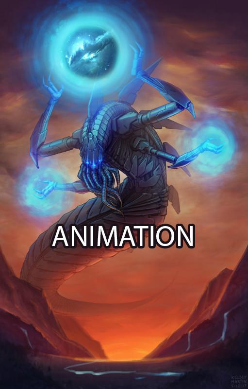 Ancient Machine God - animated