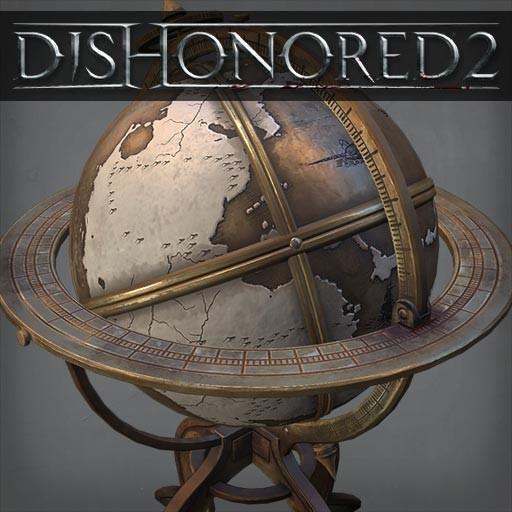 Michael Intilla Dishonored 2 Worldmap