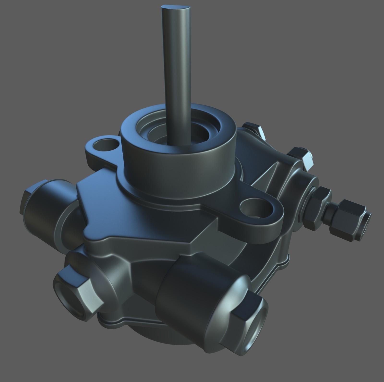 Hard Surface Study - Fuel Pump