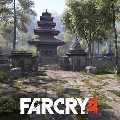 Andrew averkin far cry 4 temple logo