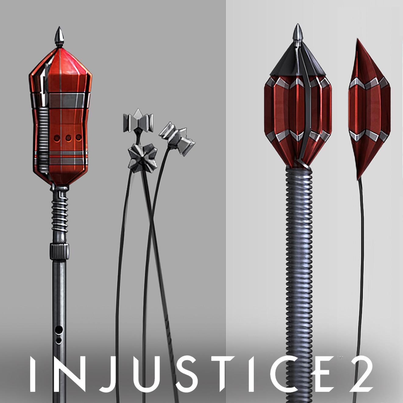 Injustice 2 // Green Arrow's Bola Arrow