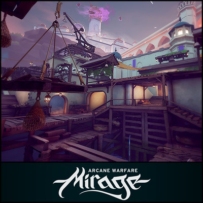 Mirage: Arcane Warfare - Drydock Map